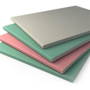 Гипсо-плиточные материалы