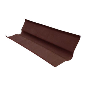 Ендова для ондулина коричневая