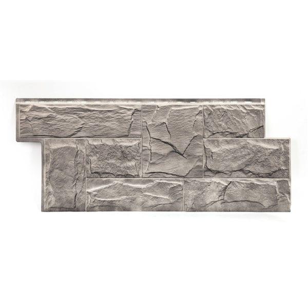 Фасадная панель T-Siding Гранит Леон ЭКО-2 (1090х455)