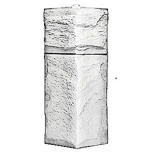 Угол наружный T-Siding Гранит Леон ЭКО-2 (450х150)
