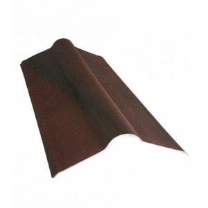 Конек для ондулина коричневый