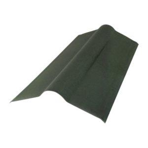Конек для ондулин черепицы зеленый