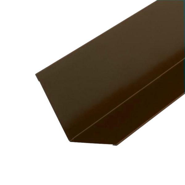 Купить Планка примыкания Docke коричневая
