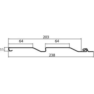 Схема сайдинга Гранд Лайн