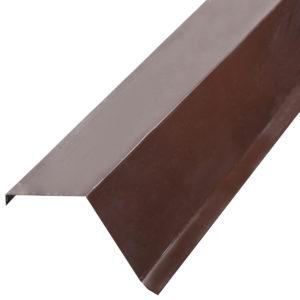 Купить Торцевая планка Doсke ветровая коричневая