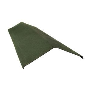 Щипец зеленый для ондулин черепицы