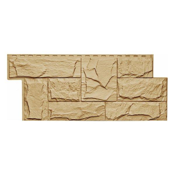 Купить Фасадная панель Т-Сайдинг Гранит леон бежевый