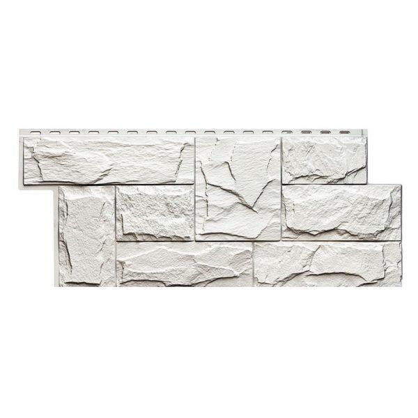 Купить Фасадная панель Т-Сайдинг Гранит леон белый