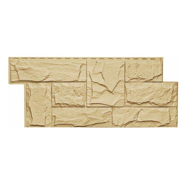 Купить Фасадная панель T-Siding Гранит леон желтый