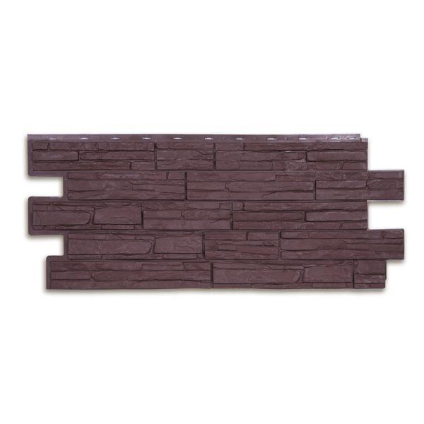 Купить Фасадная панель T-Siding Альпийская сказка коричневый