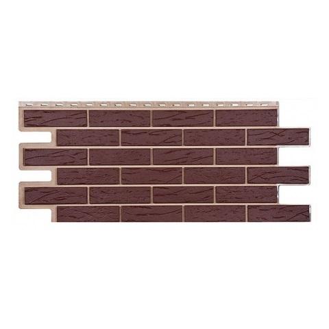 Купить Фасадная панель Т-Сайдинг Саман коричневый