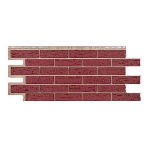 Купить Фасадная панель Т-Сайдинг Саман красный
