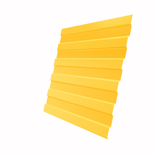 Купить Профнастил С-8 Полиэстер RAL 1018 Цинково-желтый