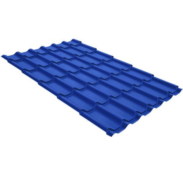Купить Металлочерепица Монтеррей Полиэстер RAL 5005 Сигнально-синий