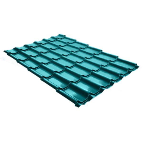 Купить Металлочерепица Монтеррей Полиэстер RAL 5021 Голубая вода