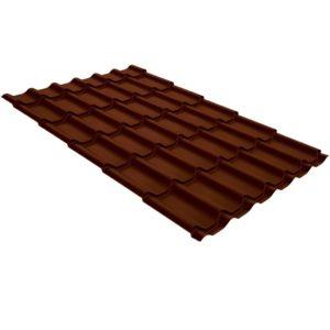 Купить Металлочерепица Монтеррей RAL 8017 Шоколадно-коричневый