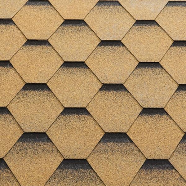 Купить Гибкая черепица Katepal Katrilli золотой песок