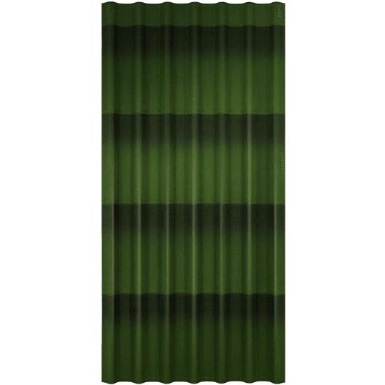 Ондулин черепица зеленая