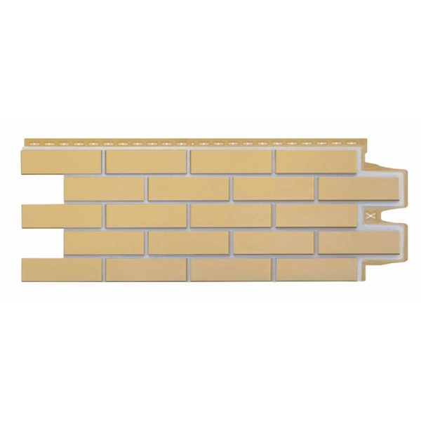 Купить Фасадная панель Гранд Лайн Премиум клинкерный кирпич горчичный