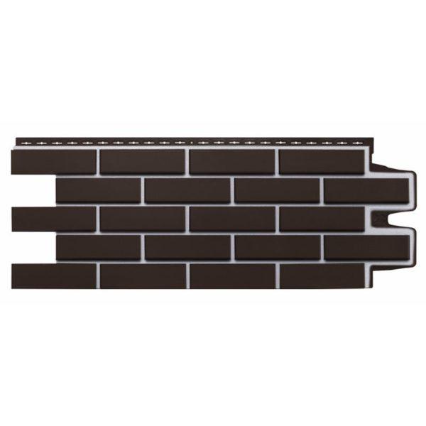 Купить Фасадная панель Гранд Лайн Премиум клинкерный кирпич шоколад
