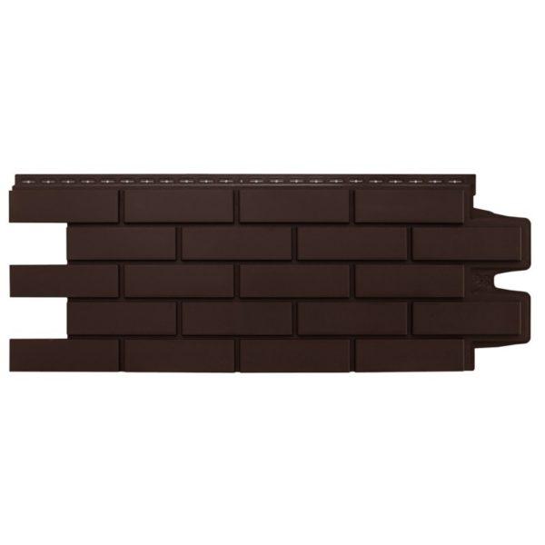 Купить Фасадная панель Гранд Лайн клинкерный кирпич коричневый