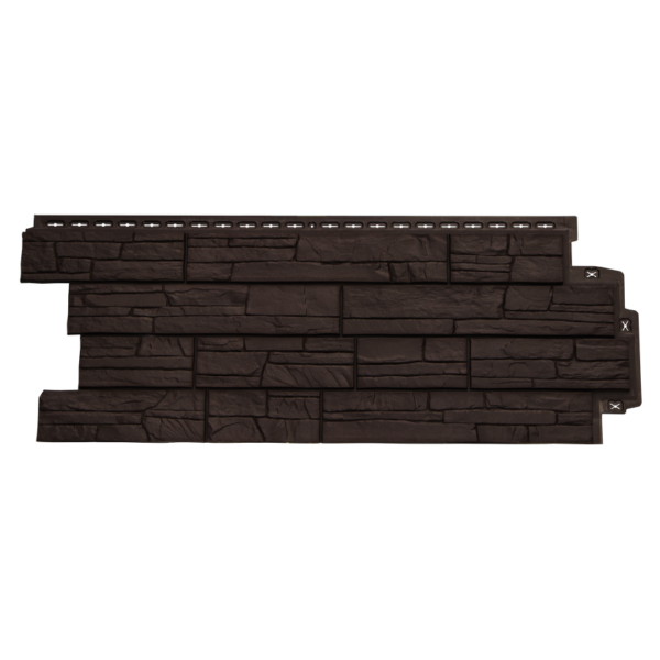 Купить Фасадная панель Гранд Лайн сланец коричневый