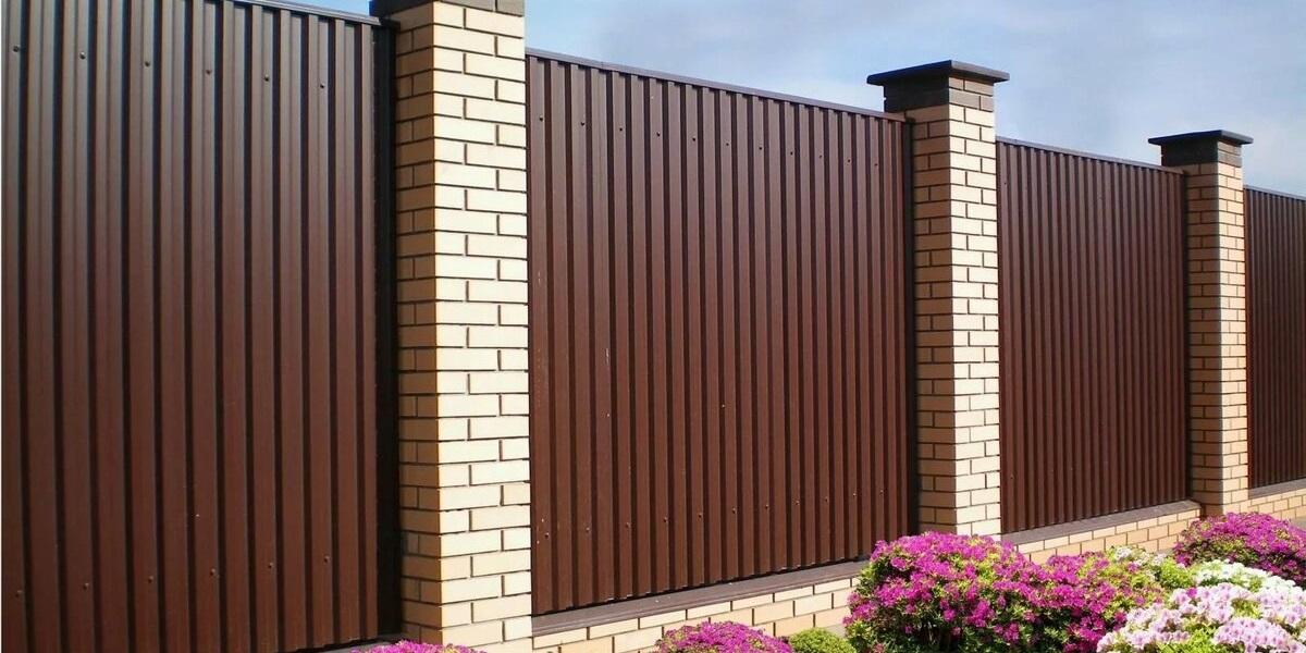 Купить Забор из профнастила