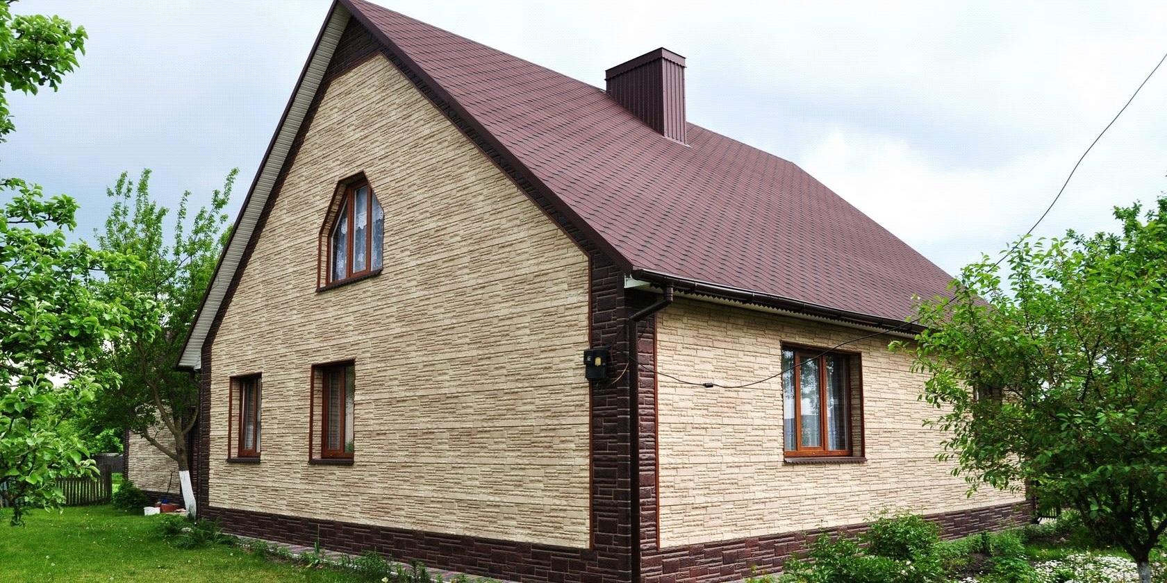 Купить Фасадные материалы для наружной отделки дома