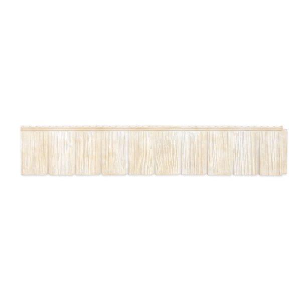 Купить Купить Фасадная панель ЯФасад Гранд Лайн Сибирская дранка Слоновая кость