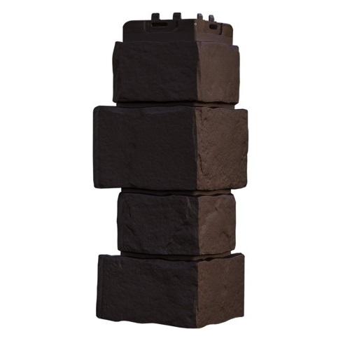 Купить Угол Гранд Лайн крупный камень коричневый