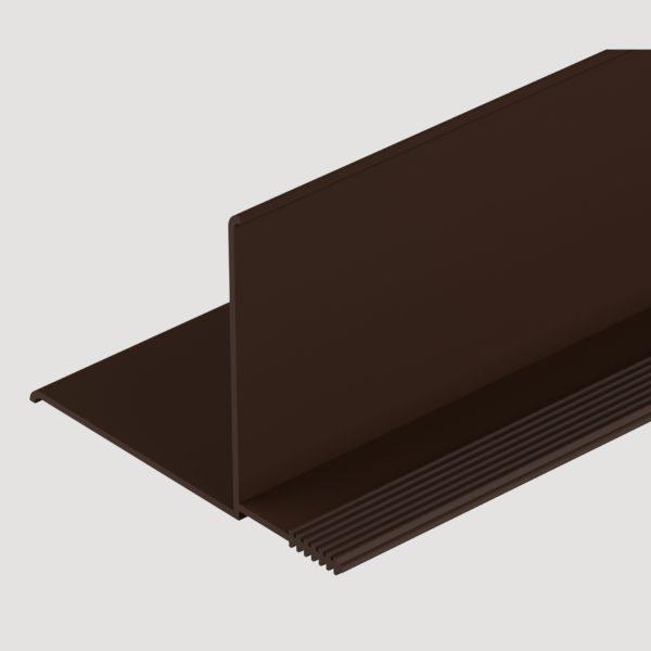 Фасадный внутренний угол Деке Шоколад
