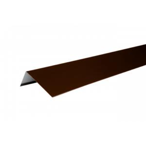 Купить Наличник оконный металлический (полиэстр) коричневый