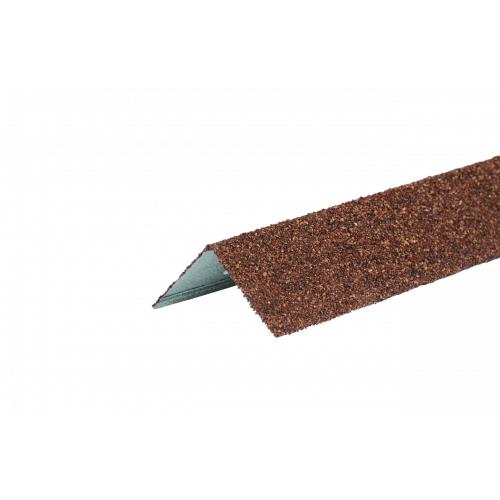 Уголок металлический внешний терракотовый
