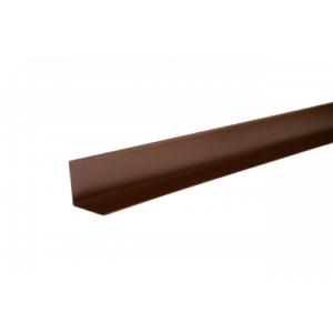 Цена на Уголок металлический внутренний (полиэстр) коричневый