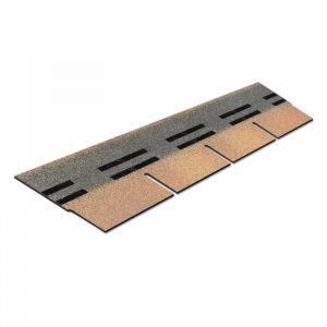 Плитка фасадная Технониколь HAUBERK Песчаный кирпич