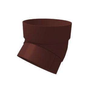 Купить Колено трубы Гранд Лайн коричневый