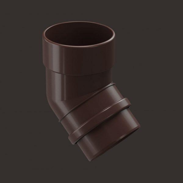 Купить Колено 45 Docke Lux шоколад
