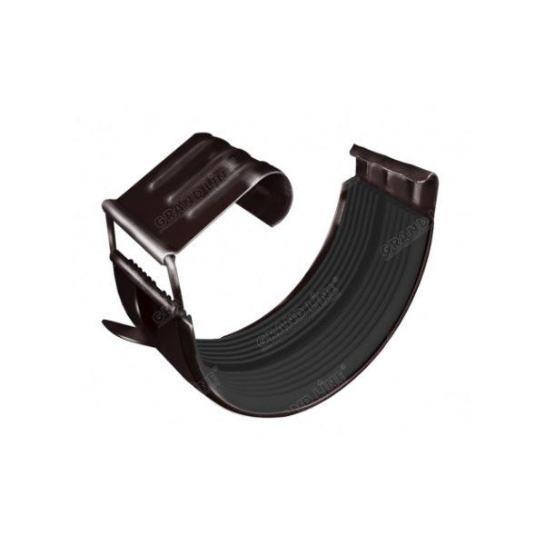 Цена на Соединитель желоба Optima коричневый