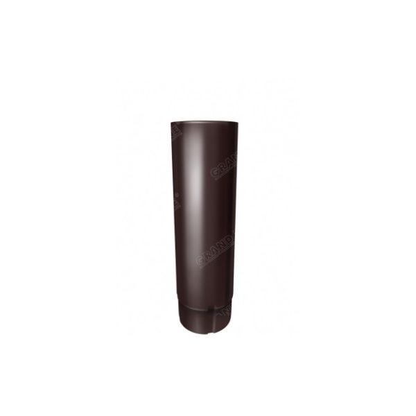 Цена на Цена на Труба круглая 3м Optima коричневый