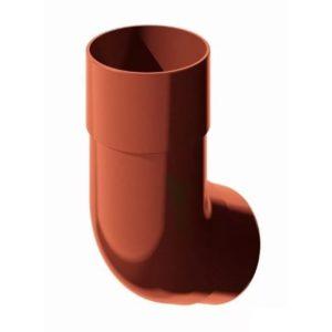 Купить Колено трубы коричневое Верат