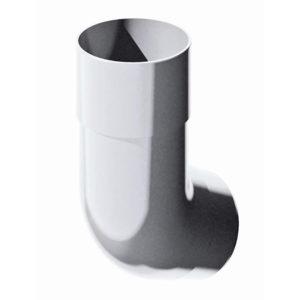 Купить Колено трубы белое Verat