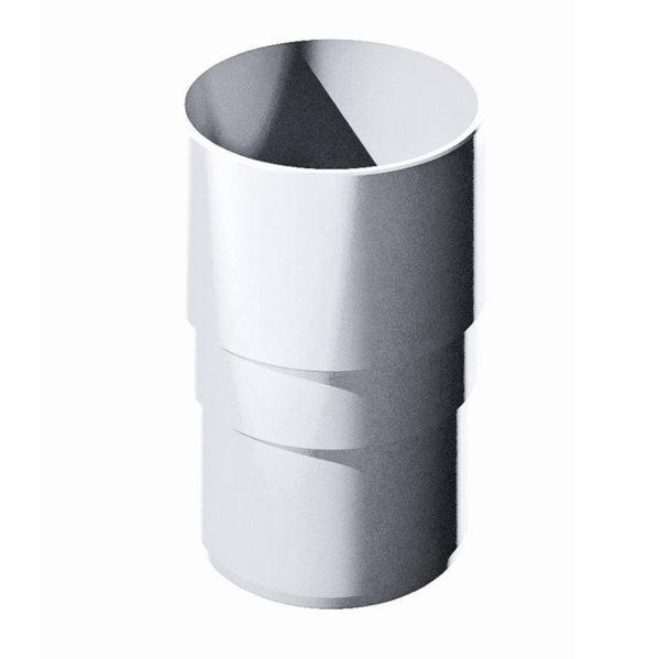 Купить Муфта трубы белая Верат