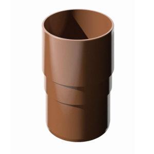 Купить Муфта трубы коричневая Verat