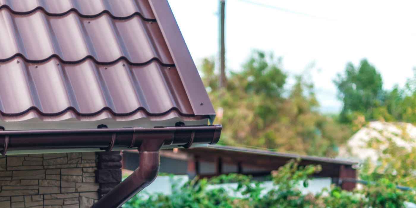 купить водостоки металлические +для крыши цена