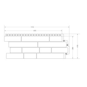 Цена на Фасадная панель Grand Line Элит