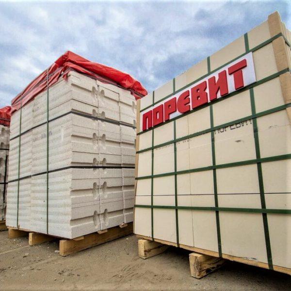 Купить Газобетонные блоки Поревит Д500 300 мм